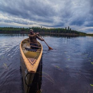 Learning how to Solo A Canoe